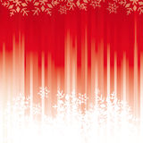 Red snowflakes background Stock Photo