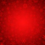 Red snowflakes. Vector red background with snowflakes stock illustration