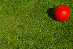 Free Red Soccer Ball Royalty Free Stock Photo - 15371505