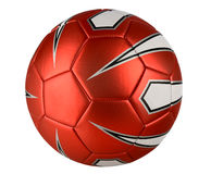 Red Soccer Ball Stock Photos