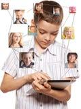 Red social Foto de archivo libre de regalías