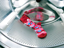 Red sock Royalty Free Stock Photography
