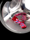 Red sock Royalty Free Stock Image