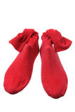 Red Socks Stock Image