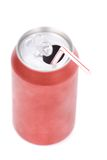 Red soda can Stock Photography