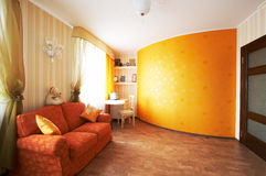 Red sofa Stock Photo