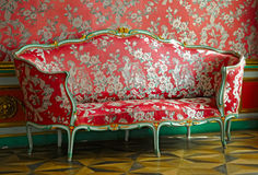 Red sofa Stock Photos