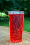 Red soft drink Stock Photo