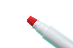 Red soft-tip pen Stock Photos
