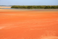 Red soil Stock Image