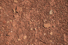 Red soil background Royalty Free Stock Image