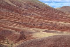 Red soil royalty free stock photography