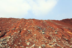 Red Soil Hill Royalty Free Stock Photo