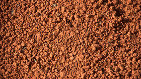 Red soil. Image of red soil(dirt Royalty Free Stock Image