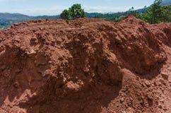 Red soil royalty free stock photos
