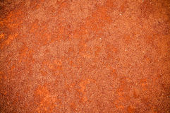 Red soil texture Royalty Free Stock Photography