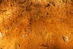 Red Soil Texture Stock Images