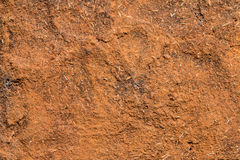 Red soil wall texture Royalty Free Stock Images
