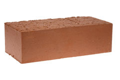 Red solid brick Stock Photos