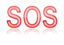 Red sos Stock Images