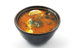Red soup Stock Photography