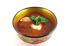 Red soup Stock Images
