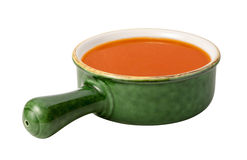 Tomato Soup isolated Stock Photos