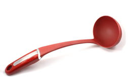 Red Soup Ladle Stock Images
