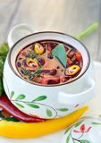 Red soup Royalty Free Stock Photography