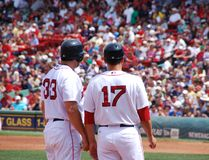 Red Sox 免版税库存照片