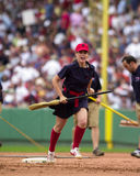 Red Sox Grounds crew. Stock Photography