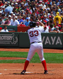 Red Sox, Jason Varitek Royalty Free Stock Photo