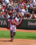 Red Sox, Jason Varitek Royalty Free Stock Photos