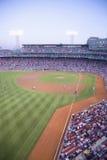 Red Sox lek på den Fenway parken Arkivbilder