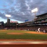Red Sox på Fenway Park Fotografering för Bildbyråer