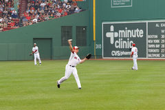 Red Sox right fielder #7 J.D. Drew Royalty Free Stock Photo