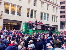 2018 Red Sox world champions parade in Boston stock photography