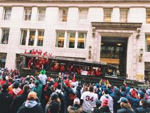2018 Red Sox world champions parade in Boston royalty free stock image
