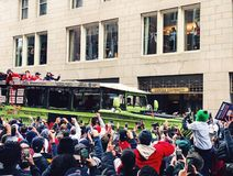 2018 Red Sox world champions parade in Boston royalty free stock photos