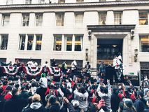 2018 Red Sox world champions parade in Boston royalty free stock images