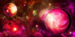 Red space Royalty Free Stock Photos