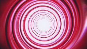 Red space time warp tunnel vortex loopable motion background. Abstract red space time warp tunnel vortex loopable motion background backdrop stock video