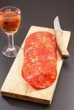 Red spanish chorizo Royalty Free Stock Photo