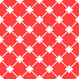 Red spanish ornamental ceramic tile. Red spanish ornamental decorative ceramic tile vector design royalty free illustration