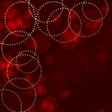 Red sparkle background Royalty Free Stock Photo