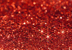 Red Sparkle Background Royalty Free Stock Image