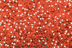 Red sparkling background Royalty Free Stock Image
