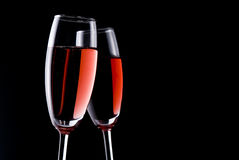 Red sparkling wine Royalty Free Stock Photo