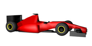 Red speed car Royalty Free Stock Photography