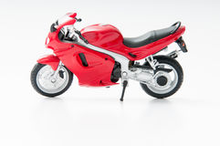 Red speed motorcycle Royalty Free Stock Photo